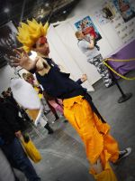 Oct Expo 08: Goku by NekoFlameAlchemist