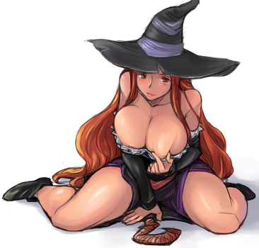 S0orceress Dragon's Crown by MilasSexy
