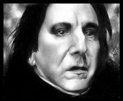 Severus Snape by RighteousVampire