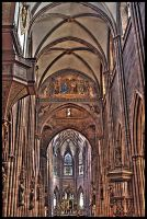 Cathedral of Freiburg 02 by luethy