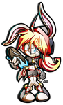 Kassy the Rabbit by R-no71