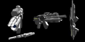 R.4.Z.0.R. Assault Rifle RD by omega12008