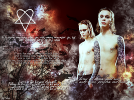 Ville Valo Wallpaper by Bisi--Dsgn