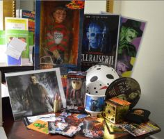 Horrorhound shrine by AlexAngelPrince