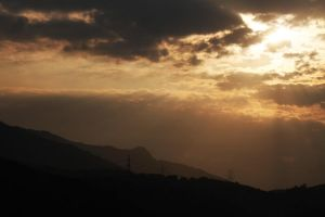 Rays Through Clouds by johnchan