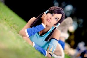 Legend of korra cosplay by CosmicNya