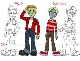 Fred and Xander - Reworked by Shannanigan