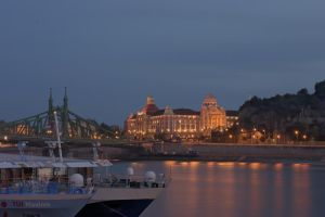 Budapest at night Nr. 2 by JoergJohannMueller