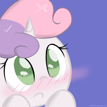 Blushing Sweetie by DeathNyan