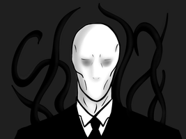 Slenderman DIGITAL by IamtheProxy