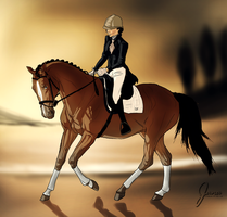 Autumn dressage by C-Creatio