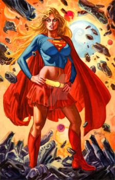 Supergirl 2011 by nocturnals23