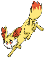 Fennekin used tackle by xCoalchaser