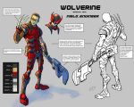 Wolverine Special Ops Operative Character Sheet by ZipDraw