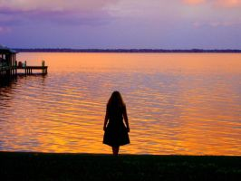 Florida sunset sillouette by Freckles4815162342