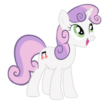 Sweetie Belle All Grown Up by dlazerous