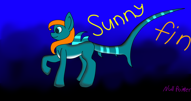 Sunny Fin by Null-Pointer-Error