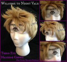 Third Eye Hanging Crown by CobblestoneHeart