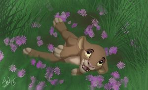 Jani in the flowerz!!! by TC-96