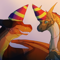 HAPPY ANNIVERSARY!!!!!!!! by iiDragonfantasyArt