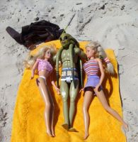The vacations of Kit Fisto by paulinone