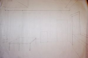 1 point linear perspective by TanisaurusRex