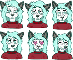 Maddie Telegram Stickers by TECHNlCOLOUR
