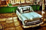 An Old Rusty Moskvitch by SunSunich