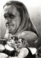 Nicko McBrain - IRON MAIDEN by akaLilith