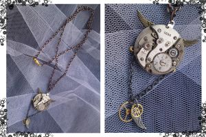 Steampunk Necklace by Karla-Chan