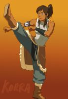 Avatar Korra by tribute27