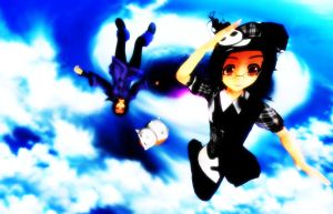 Skydiving by Clonesaiga