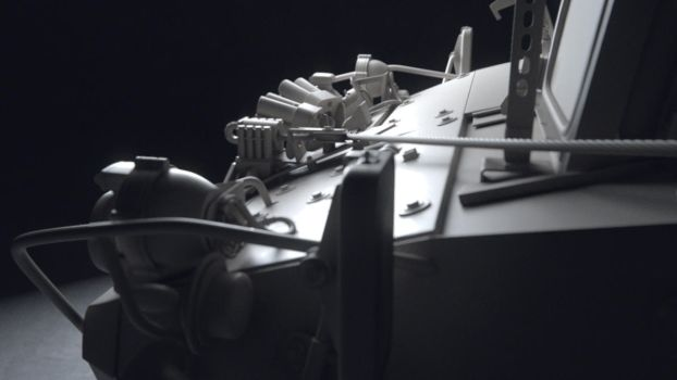 Stryker LAV Front by tobylewin