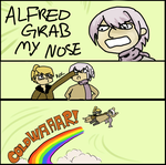 GRAB MY NOSE by animlcrosr