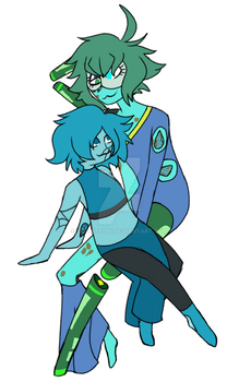 Turquoise and Turquoise by CookiePoni