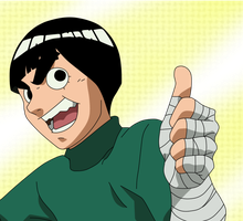 Rock Lee 1 by Sunny-berry