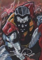 Colossus Sketch Card by Sigint
