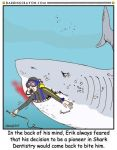 Shark Week Cartoon No. 16 by Conservatoons