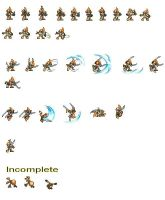 Gizoid sprites by Binarin