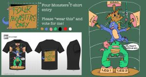 For Monsters Only: Contest Entry by Halfloner