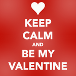 Keep Calm, Valentine by bystrawbrry