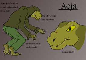 LaF Reference: Aeja by Someguyfromcrowd
