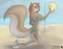 Anthro Calender 2014 - April by Ulario