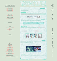Seasons WinterJournal Vol.1 - Easy.Install by poserfan