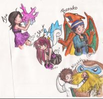 speed friends draw XD by sweetxdeidara
