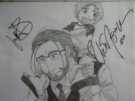 Hohenheim and Ed by animenerd22