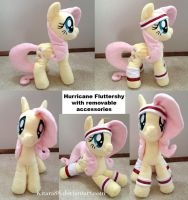 Hurricane Fluttershy Plush by Kitara88