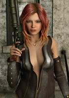 Natasha by d2rainman