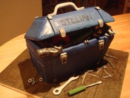 Blue workbox by Shoshannah84