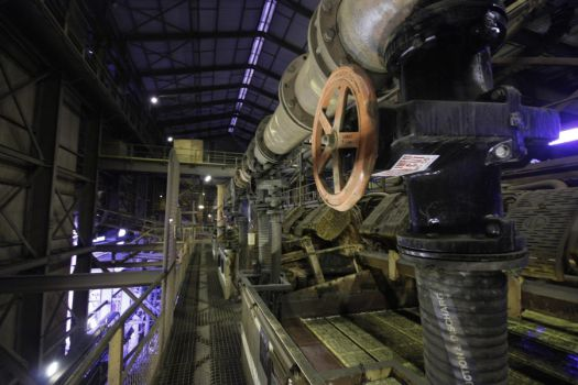 Inside the cyclone plant by Johvic
